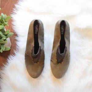 Shoes - [Raffini] Heeled Wedges Gray Cushioned Size 39